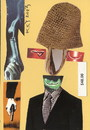 Cartoon: Spy (small) by Kestutis tagged spy spook postcard collage portrait kestutis lithuania