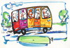 Cartoon: Travel (small) by Kestutis tagged bus travel