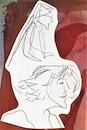Cartoon: Two sketch art postcards 14 (small) by Kestutis tagged sketch,postcard,art,kunst,kestutis,lithuania