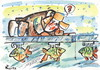 Cartoon: WHERE DID THE FISH DISAPPEAR? (small) by Kestutis tagged fish,anglig,adventure,winter,ice,fishing,kestutis,lithuania