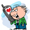 Cartoon: Valentine (small) by krutikof tagged postcard,family,love,friendship,feelings,heart,man,woman,greeting