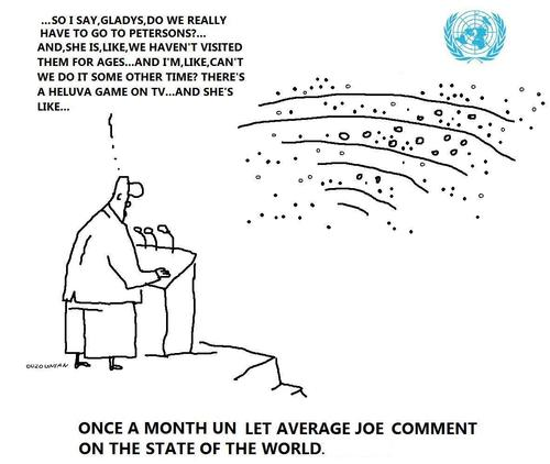 Cartoon: un and stuff (medium) by ouzounian tagged speaches,un,united,nations