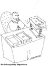 Cartoon: business and stuff (small) by ouzounian tagged desks,business