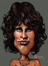 Cartoon: Jim Morrison (small) by cristianst tagged the,doors