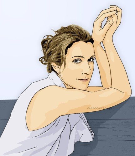 Cartoon: Celine Dion (medium) by cartoon photo tagged cartoon,photo,celine,dion,singer,canada,cartoonized,cartoonization