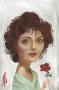 Cartoon: Susan Sarandon Caricature (small) by Dante tagged susan sarandon caricature