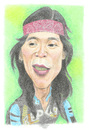 Cartoon: Bimbim Slank (small) by areztoon tagged music slank bim2 bimbim karikatur drumer coloring