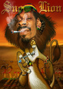 Cartoon: Snoop Lion (small) by RodneyPike tagged rodney,pike,free,high,resolution,image,illustration,photo,photoshop,manipulation,rwpike,chop,crazy,funny,dramatic,surreal,scary,caricature,dark,painting,enhanced,exaggerated,creepy,celebrity,spoof,snoop,dogg,lion,jamaica,reggae,rastafari,rasta