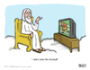Cartoon: News Flash (small) by a zillion dollars comics tagged sports,religion,society,culture