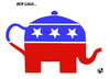 Cartoon: American Republicans (small) by Vejo tagged republicans,logo,obamacare,teaparty