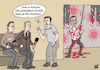 Cartoon: ASSAD INTERVIEWED... (small) by Vejo tagged assad,torture,human,rights,war,crime,press