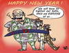 Cartoon: HAPPY NEW YEAR... (small) by Vejo tagged new,year,2012,crisis