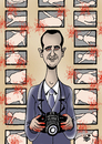 Cartoon: HOBBY ASSAD... (small) by Vejo tagged assad,hobby,torture,dictator,war,civil,bloodbath