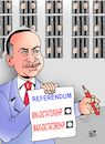 Cartoon: Referendum Erdogan... (small) by Vejo tagged erdogan,dictatorship,democratie,freedom,of,speech