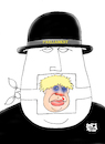 Cartoon: Suspension  British parliament (small) by Vejo tagged parlaiment,boris,johnson,dictator,freedom,of,speech,censor