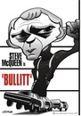 Cartoon: Bullitt (small) by spot_on_george tagged steve mcqueen caricature bullitt