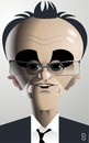 Cartoon: Danny Boyle (small) by spot_on_george tagged danny,boyle,caricature