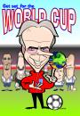 Cartoon: World Cup cover art (small) by spot_on_george tagged world,cup,sven,beckham,football,caricature