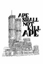 Cartoon: ape shall not kill ape (small) by chrisse kunst tagged 911,newyork