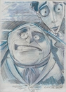 Cartoon: Sketch from Corpse Bride (small) by McDermott tagged corpsebride,movies,stopmotion,animation,timburton,fantasy