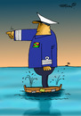 Cartoon: ... (small) by to1mson tagged wasser,water,woda,marynarka,navy
