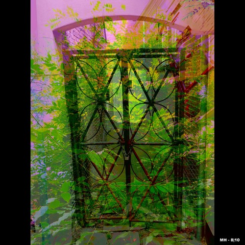 Cartoon: Mh - The Gate to Happiness (medium) by MoArt Rotterdam tagged gate,poort,happiness,geluk,slot,lock,flowers,bloemen,fantasy,real,fotomix,photoblend