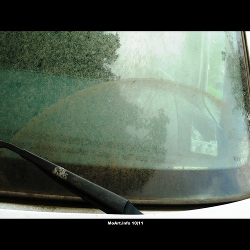 Cartoon: MoArt - Dirty Window! 5 (medium) by MoArt Rotterdam tagged rotterdam,moart,moartcards,dirt,vuil,raam,window,auto,car