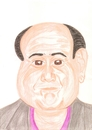 Cartoon: Danny DeVito (small) by paintcolor tagged danny,devito,caricature,actor,famous,hollywood
