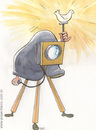 Cartoon: Flash (small) by Jesse Ribeiro tagged photographer,comics,cartoon,illustration,flash