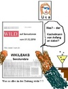 Cartoon: Wikileaks Sexskandale (small) by Ernst Alter tagged wikileaks,sex,skandal