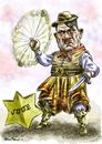 Cartoon: Hitler_gaucho (small) by Bob Row tagged argentina,anisemitism,junta,hitler,gaucho