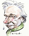 Cartoon: Julian Assange (small) by Bob Row tagged assange wikileaks transparency ciberactivism antisemitism