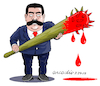 Cartoon: Maduro-the tyran. (small) by Cartoonarcadio tagged maduro,venezuela,latin,america,dictactor,president,socialism