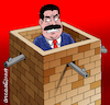 Cartoon: Tha maduro wall. (small) by Cartoonarcadio tagged maduro,venezuela,latin,america,dictactor,president,socialism