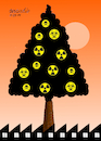 Cartoon: The Sad Christmas Tree (small) by Cartoonarcadio tagged christmas,tree,december