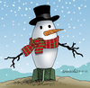 Cartoon: The snowman (small) by Cartoonarcadio tagged christmas,war,conflicts