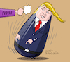 Cartoon: Trump...the stubborn. (small) by Cartoonarcadio tagged trump,pelosi,washington,politicians,white,house