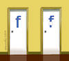Cartoon: Uses for the F of Facebook 4 (small) by Cartoonarcadio tagged internet,facebook,social,nets,computers