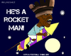 Cartoon: Balotelli - Over the Moon (small) by bluechez tagged mario,balotelli,manchester,city,rocket,firework,football,premiership