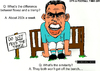 Cartoon: Carlos Tevez - On the Bench (small) by bluechez tagged carlos,tevez,manchester,city,champions,league,argentina,football