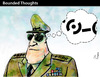 Cartoon: Bounded Thoughts (small) by PETRE tagged border limits countries