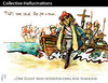 Cartoon: Collective Hallucinations (small) by PETRE tagged colombus america discovery