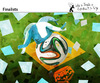 Cartoon: Finalists (small) by PETRE tagged football,fifaworldcup