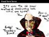 Cartoon: Fixed Term Terror (small) by PETRE tagged dracula vampires blood banks crisis