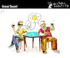 Cartoon: Great Travel (small) by PETRE tagged friendship,friends,chat