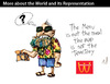 Cartoon: More about the world and its... (small) by PETRE tagged philosphy gestalt politics
