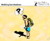 Cartoon: Nothing but shadows (small) by PETRE tagged beach,summer