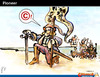 Cartoon: Pioneer (small) by PETRE tagged copyright,america,colombus,discovery