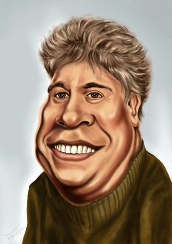Cartoon: Pedro Almodovar (medium) by gartoon tagged almodovar,pedro