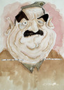 Cartoon: saddam (small) by darkoarts tagged saddam hussein diktator irak kurdistan war karikatur